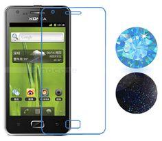 Phone Shop, Screen Protector, Blue Sapphire, Sparkle, Glitter, Stickers, Film, Elegant, Decoration