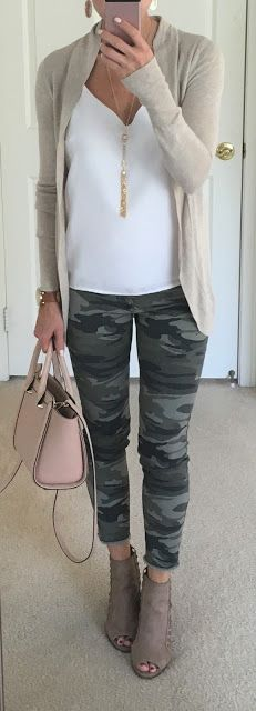 Colored Jeans Outfits You Will Definitely Want To Colored Jeans Outfits You Will Definitely Want To Save Off Today Only These shoes are suitable for any daily used Camo Pants For Women Camo Jeans Outfit Ideas Camo Jeans Outfit, Colored Jeans Outfits, Outfits With Camo Pants, Womens Jeans Outfits, Cute Camo Outfits, Jeans Outfit For Work, Red Pants, Casual Outfits, Fashion Outfits