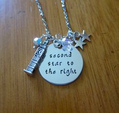 Peter Pan Inspired Necklace. Peter Pan Second by WithLoveFromOC