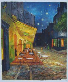 """The Cafe Terrace"""" - Van Gogh"""