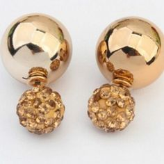 9 Besten Earrings Bilder Auf Pinterest Kristall Strass Kristalle