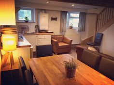 Hay Barn, Dog Friends, Corner Desk, Cottage, Kitchen, Table, Furniture, Home Decor, Corner Table