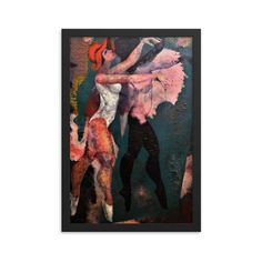 Bartos Art Framed Poster: MIMICRY I., Create a unique and personalized Ambiance in your Home and Office Timeless Beauty, Framed Art, Original Paintings, Alternative, Walls, Scene, Key, Create, Simple