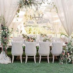Such a dreamy elegant design #happysunday #sundaymorning @revelryeventdesign #joyproctordesign #weddingdesign #weddingdecor #luxuryweddings #destinationwedding #weddingdecor #weddingchairs #weddingplanners #instablooms #instalove #5starweddings #wedstagram #mrandmrs #isaidyes #tablestyling #tablescapes #newlyengaged #instabride