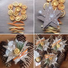 Новогодний декор для оформления подарка… (2 фото)