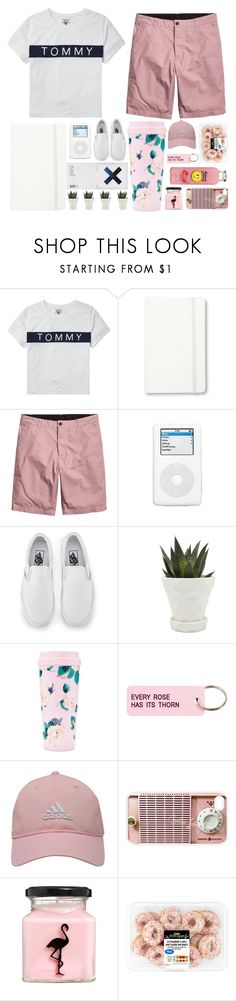 """""""20.7.2017"""" by renyic ❤ liked on Polyvore featuring Tommy Hilfiger, Moleskine, KEEP ME, Vans, Chive, ban.do, Various Projects, adidas Golf, Samsung and ASOS"""