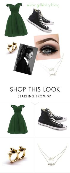 """""""Skater Girl Kind of Thang"""" by avrile ❤ liked on Polyvore featuring beauty, Converse, ASAP and Charlotte Russe"""