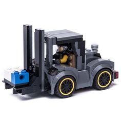 moc video at Lego Cars Instructions, Lego Building, Building Ideas, Lego Truck, Lego Models, Lego Projects, Custom Lego, Lego Creations, Legos