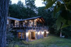 Poconos by JENDRETZKI  #architecture #arq #house #home #wood #eco #green