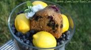 Blueberry Lemon Zucchini Bundt Cake