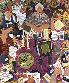 The Seder Table by Lynne Feldman