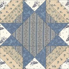 May 24 Night and Noon. Union Star was first published by Clara Stone in her booklet, Practical Needlework: Quilt Patterns, from According to Barbara Brackman, this was one in a series of needlework booklets, and as Clara Stone has been widely publis Quilt Block Patterns, Pattern Blocks, Quilt Blocks, Quilting Tutorials, Quilting Projects, Quilting Designs, Sampler Quilts, Star Quilts, Civil War Quilts