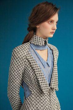 Rodarte : prairie cut-out coat