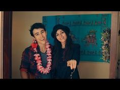 "Bruno Mars medley by Victoria Justice & Max Schneider. What's clever about this video is that they filmed it all in one take. There's a ""how they did it"" video which shows you how they managed to run from one room to another and time their entrances correctly."