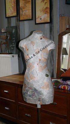 Que ce soit pour des raisons pratiques, ou juste pour se fabriquer un objet  de déco, la fabrication d un mannequin de couture sur mesure peut se faire  ... b2457496e366