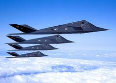 F-117 Blackhawks