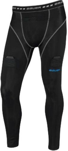 Bauer Core Compression Jock Pants [SENIOR] by Bauer. $41.99. Bauer Core Compression Senior Hockey Jock PantsContentMain Body: 81%Nylon / 19%SpandexMesh Insets at Crotch Gusset: 85%Nylon / 15%SpandexMesh Insets at Front Hip: 90%Nylon / 10%SpandexProfileCompression fit pants with pieced mesh panels for increased ventilation and mobilityTHERMO-MAX+ performance fabrics for anti-odor and moisture management technologyXO PROCUP includedReinforced self fabric 3 dimensional ...