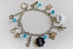 The Fault In Our Stars 'Okay Okay' Bracelet Charm by OnceInBruges, €14.50