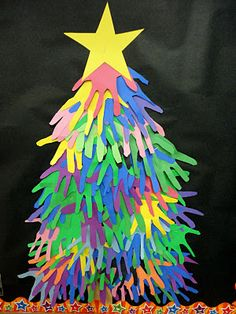 Our giving hands Christmas tree!