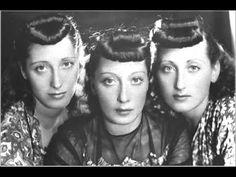 ▶ Trio Lescano - Tulipan - YouTube