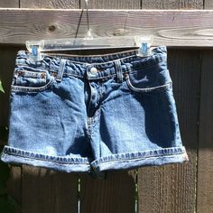 "Ralph Lauren Polo 5"" Saturday Short Denim 5 pocket shorts in like new condition. 5"" inseam unrolled. Polo by Ralph Lauren Shorts Jean Shorts"