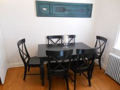 Before and After: Painted Dining Table Top to Refinished Natural Wood!