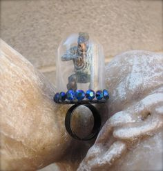 Meet My Pet Zombie Adjustable Ring by StarfishStratagies on Etsy, $20.00