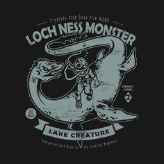 Loch Ness Monster by heartattackjack