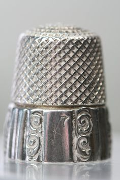 Antique Sterling Thimble- Ketchum McDougall