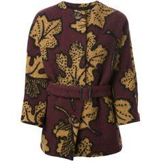 Burberry Prorsum leaf pattern coat (£2,020)