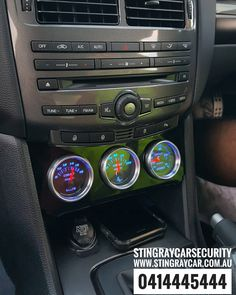 with the subtle finish with the stingray gauge and accessories holder.installed in Sydney. Ford Falcon, Gauges, Sydney, It Is Finished, Cars, Accessories, Instagram, Design, Ideas