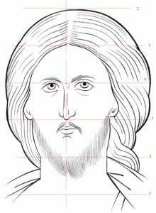 Visit the post for more. Christian Drawings, Christian Art, Byzantine Icons, Byzantine Art, Religious Icons, Religious Art, Writing Icon, Jesus Drawings, Sketch Icon