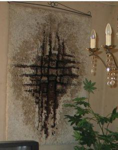 Rya Rug, Rug Patterns, Rug Hooking, Carpet, Wall Decor, Rugs, Google, Painting, Wall Hanging Decor