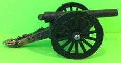 Vintage Collectable Die-Cast Miniature Civil War Style Cannon Pencil Sharpener