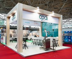"Exhibition stand at PLMA's annual ""World of Private Label"" International Trade Show"