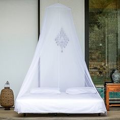 EVEN Naturals® Mosquito Net | Double Bed Conical Curtains | Fly Screen Netting | Insect Malaria Zika Repellent | Money-back Guarantee | Free Carry Pouch, Hanging Kit & eBook | Home & Travel EVEN Naturals