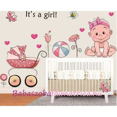 Kislány babakocsi gyerek falmatrica #falmatrica #kislány #babaszoba #gyerekszoba #faldekoráció #virág #babakocsi Kids Rugs, Disney, Baby, Home Decor, Decoration Home, Kid Friendly Rugs, Room Decor, Infants, Baby Humor