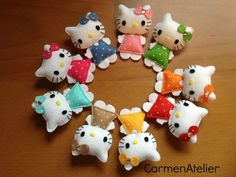 Hello Kitty Broochs