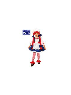 Rag Doll Girl Child Costume! See more costume ideas for Halloween and more at CostumeSuperCenter.com