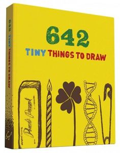 This pocket-sized drawing journal is packed with just as much clever, imaginative fun as the original bestselling 642 Things to Draw . All 642 drawing prompts invite doodlers to draw teeny-tiny things