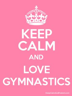#lovegymnatics #keepcalm