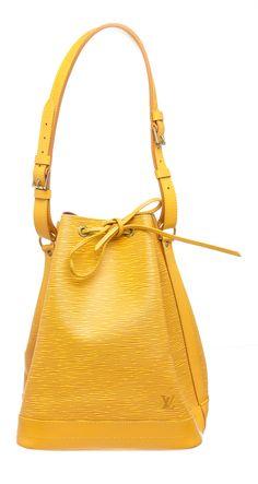 31015245ea54 Louis Vuitton Yellow Epi Leather Noe Gm Drawstring Shoulder Bag