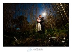 This wedding was photographed at the WIllowwood Arboretum. I love this dramatic wedding portrait mainly because of the dramatic lighting we used. Weddings at an arboretum can be gorgeous to photograph.