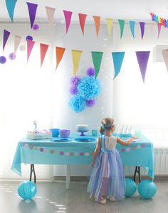Azucarillos de Colores: Coronas y faldas de Elsa de Arendelle