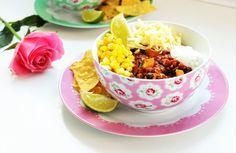 Delicious & Gluten Free: Taco Chilli Bowls