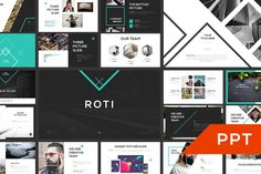 ROTI PowerPoint Template by Angkalimabelas on @creativemarket