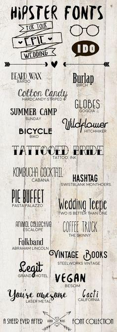 Free Hipster Wedding Fonts … – Invitation Ideas for 2020 Microsoft Word, Invitations Disney, Printable Invitations, Wedding Invitations, Invitation Ideas, Wedding Stationery, Diy Tattoo, Tattoo Fonts, Tattoo Ideas