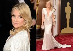Kate Hudson. Perfection in Versace. Oscars 2014