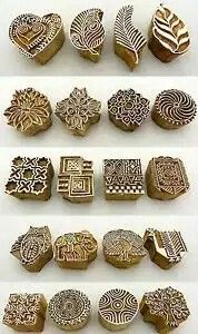 Diy with rubber gums .Hand Carved Wooden Block Printed Indian Stamps - Wood Printing Stamping Supplies in Crafts, Rubber Stamping, StampsBeautiful carving works in Traditional Peacock pattern. Hand carved wooden Block for printing on fabric / Textile Clay Stamps, Stamp Carving, Wood Carving, Stamp Printing, Printing On Fabric, Hand Block Printing, Block Printing Designs, Block Design, Handmade Stamps