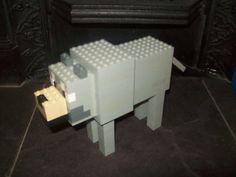 Lego Minecraft Custom Built Wolf with Instructions | eBay